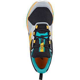 adidas TERREX Two Trail Running Shoes Men hi res aqua/core black/gold